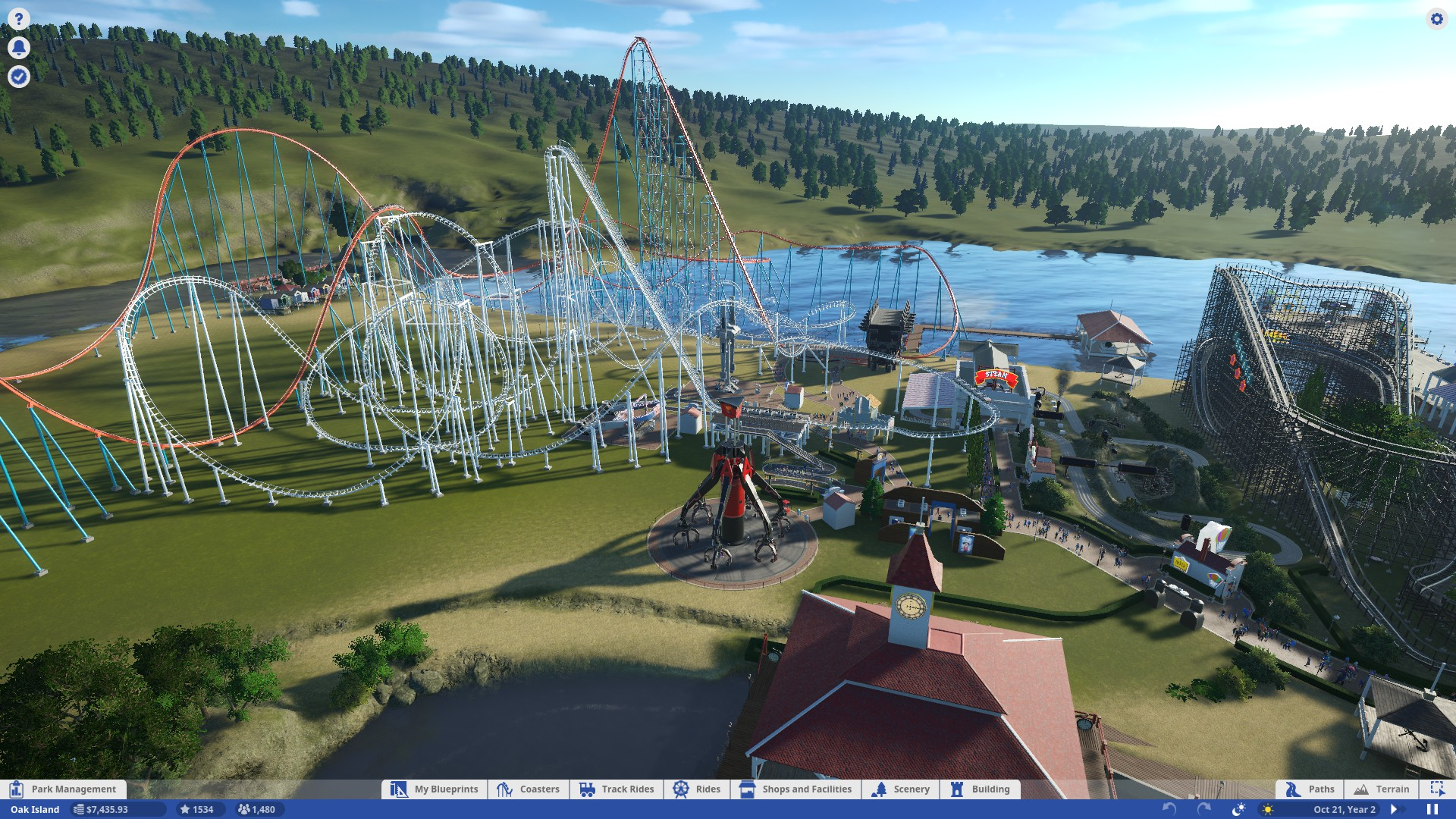 Steam Community Guide Career Mode Walkthrough Roller Coaster Here Is A Wonderful Diagram Which Shows What Happened Repeat Testing The Animation Sequences Of Various Rides Can Be Experimented With To Try And Enhance Their Stats But Generally Its Somewhat