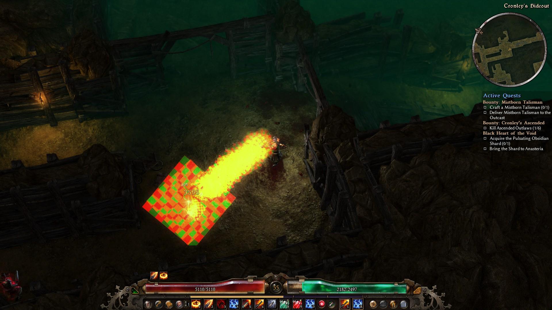 Grim Dawn - Checkerboard graphics bug - GeForce Forums