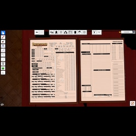 Steam Workshop :: Automated Pathfinder D20 Character sheets