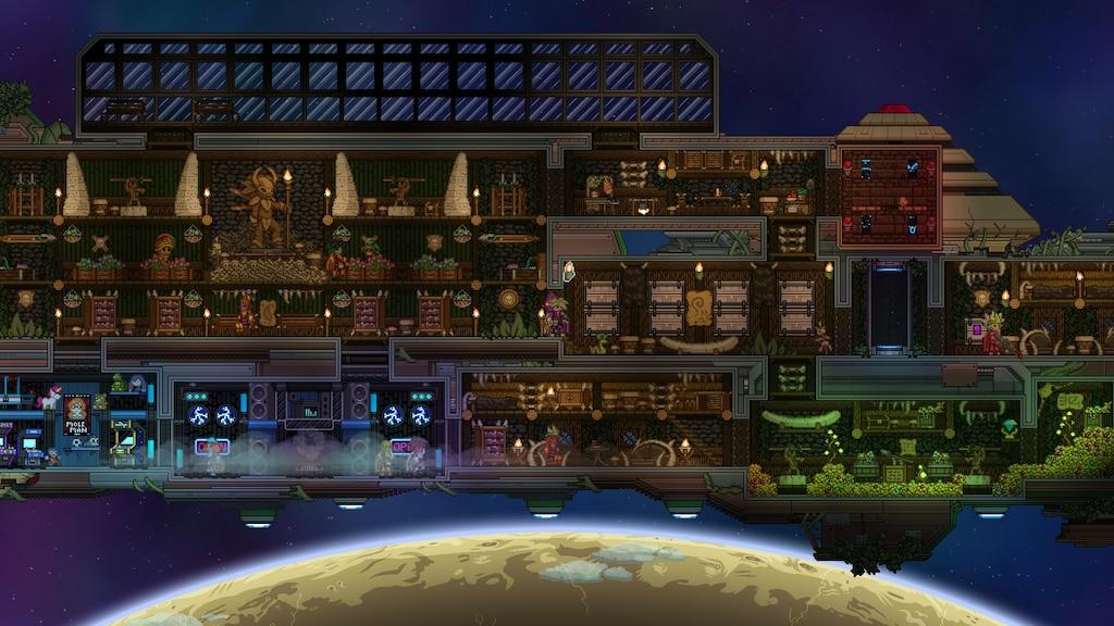 Steam Community Screenshot Starbound Floran Ship