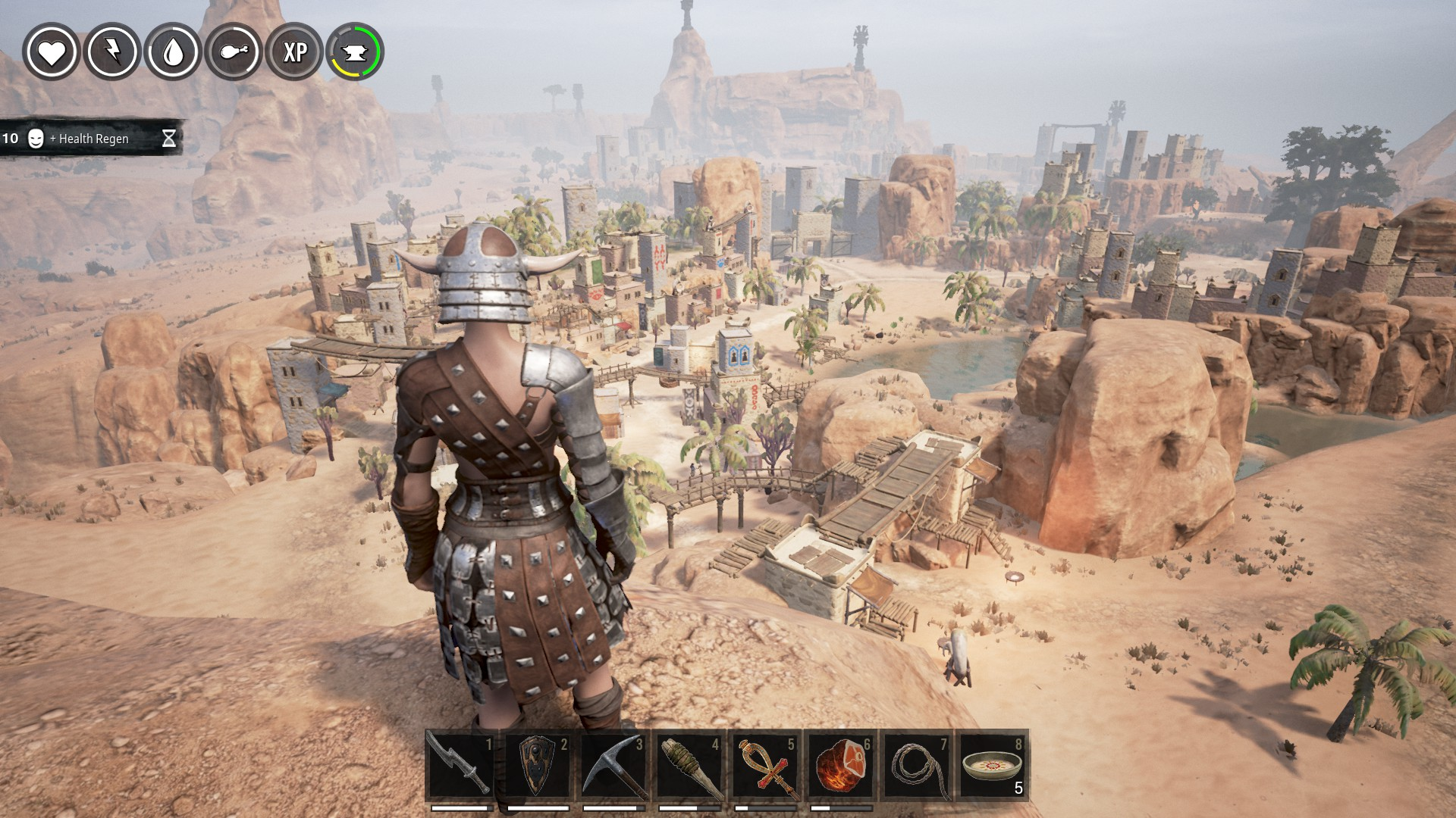 Cool base we built in Conan Exiles
