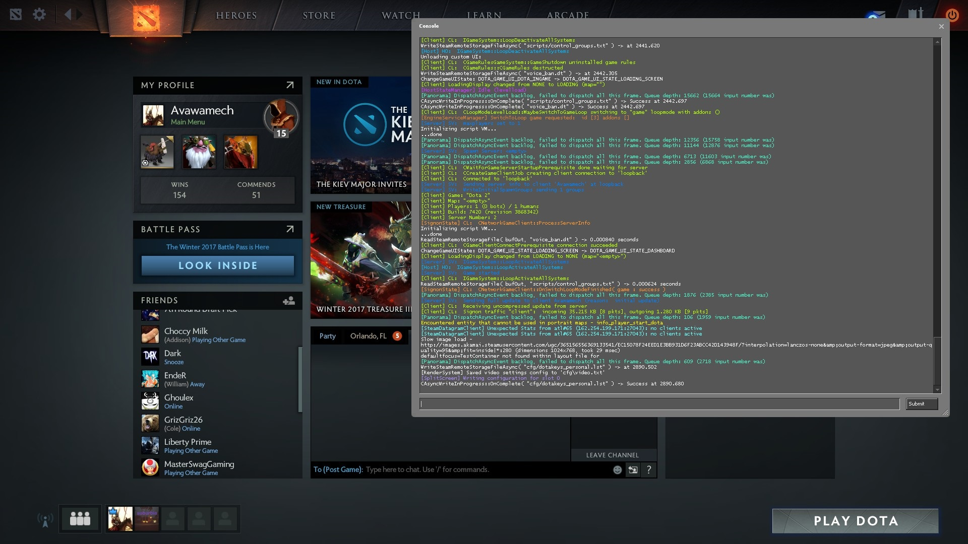 A simple help in how to open the console in Dota 2