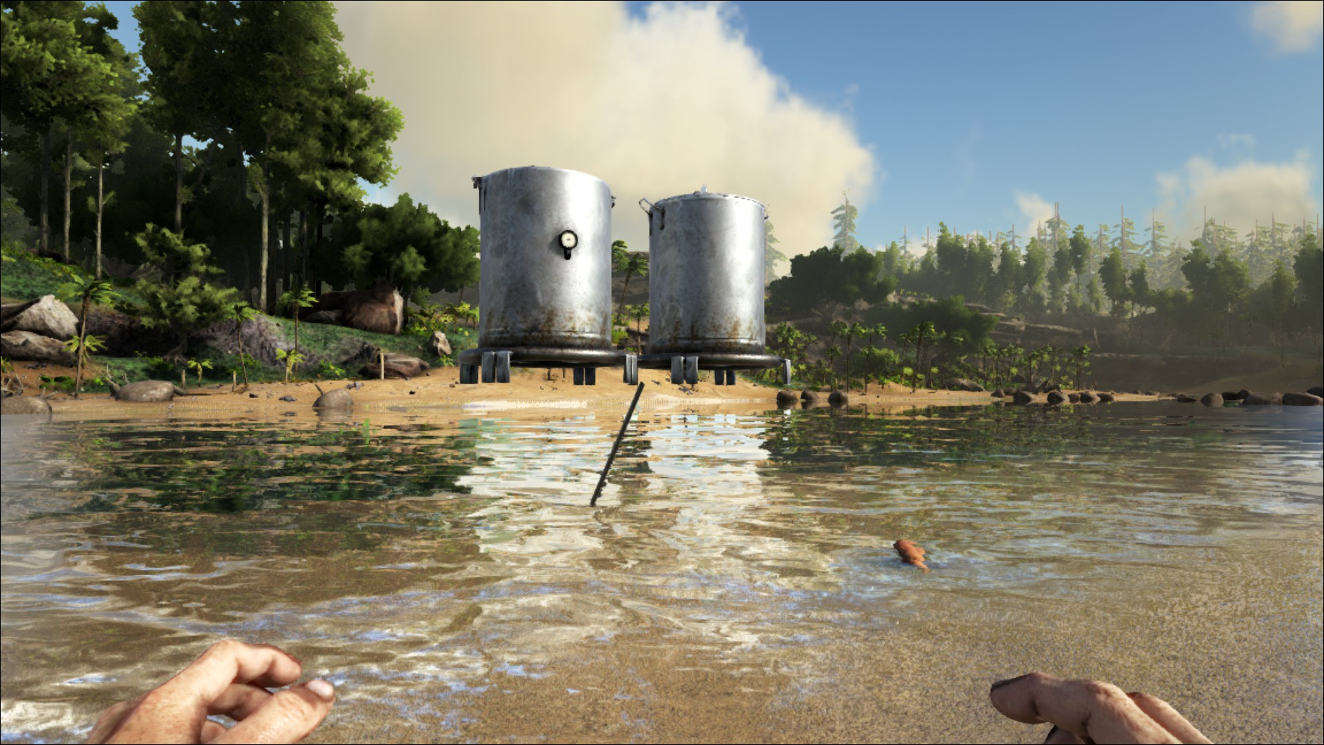 Island Snow Cave Water Bug Reports Support Ark Official