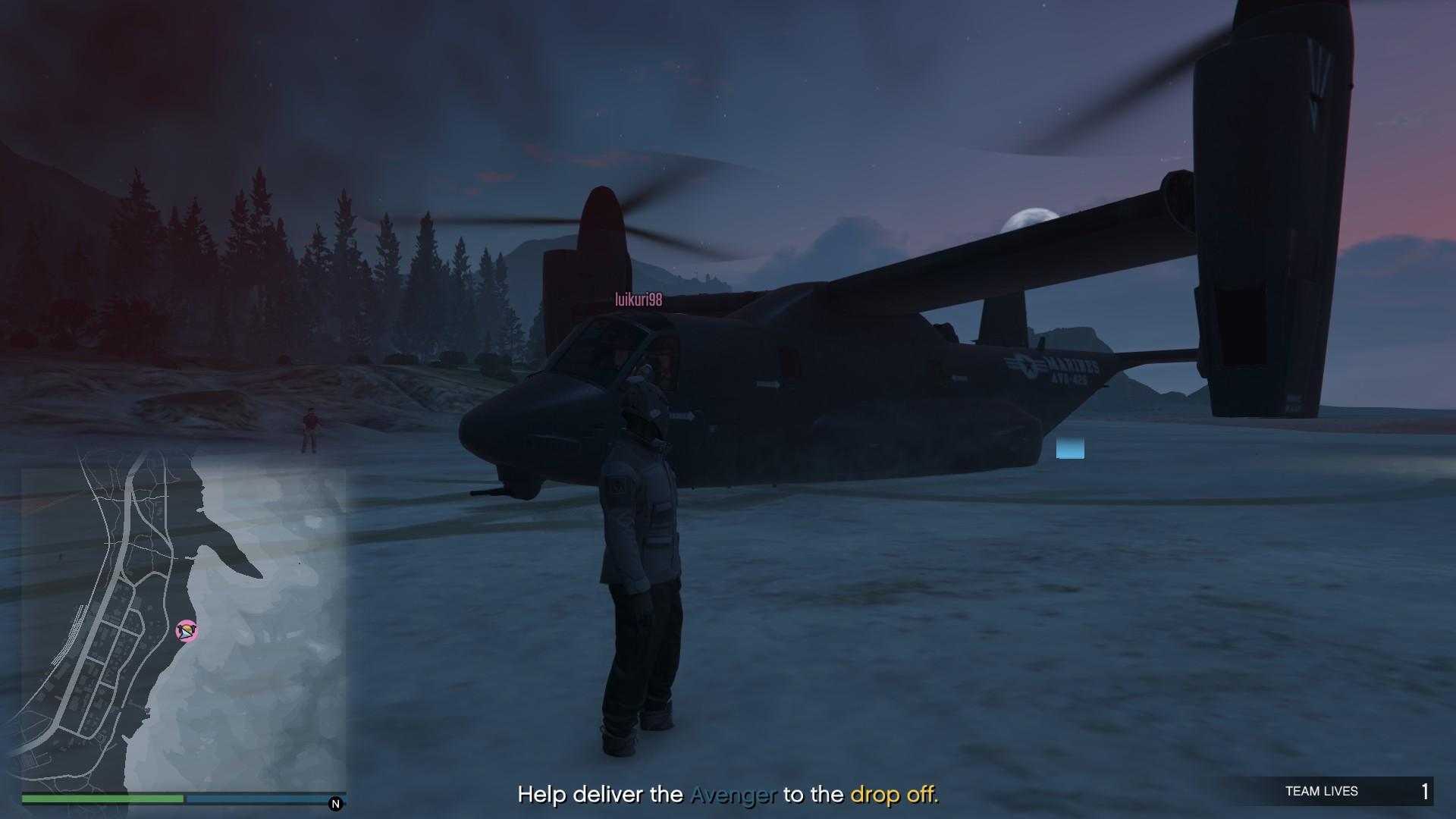 Doomsday Heist Setup: Avenger BUG :: Grand Theft Auto V General