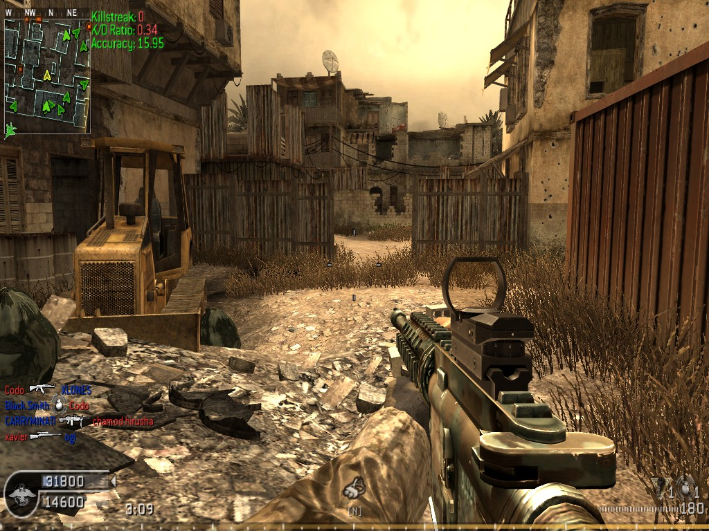 qtracker call of duty 4
