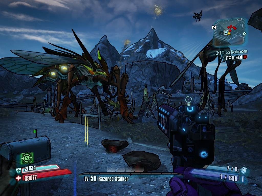 Borderlands 2 3 10 To Kaboom Failed
