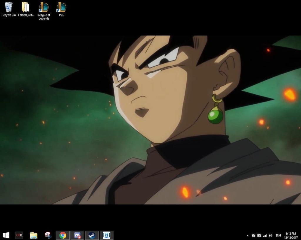Steam Community Screenshot Dark Menace Goku Black