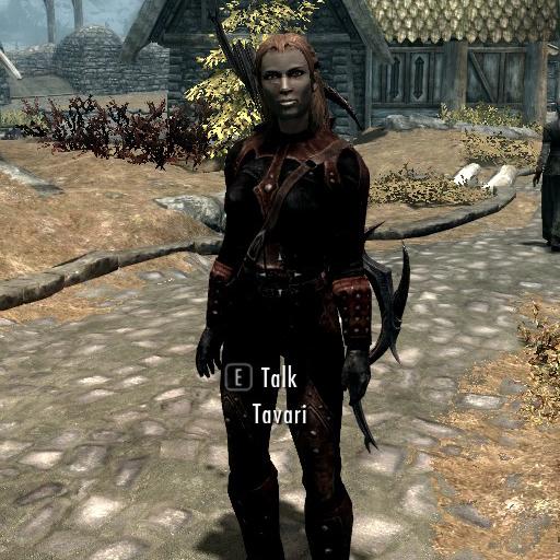 Tavari - Female Nord Archer Follower画像