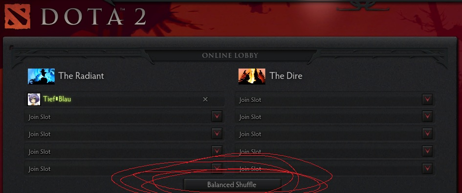 Dota 2 ranked matchmaking rules