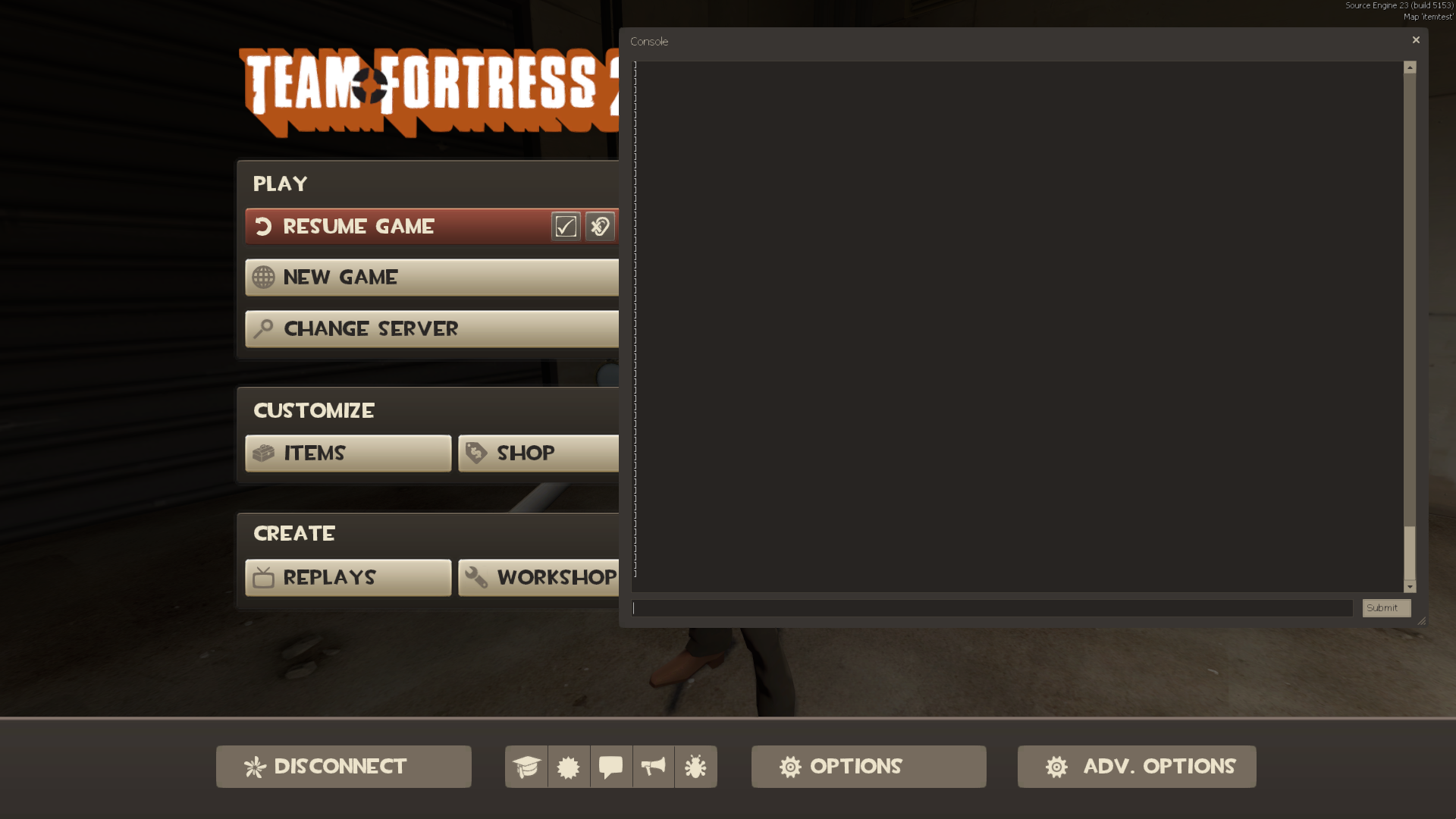 tf2 how to get your map tested