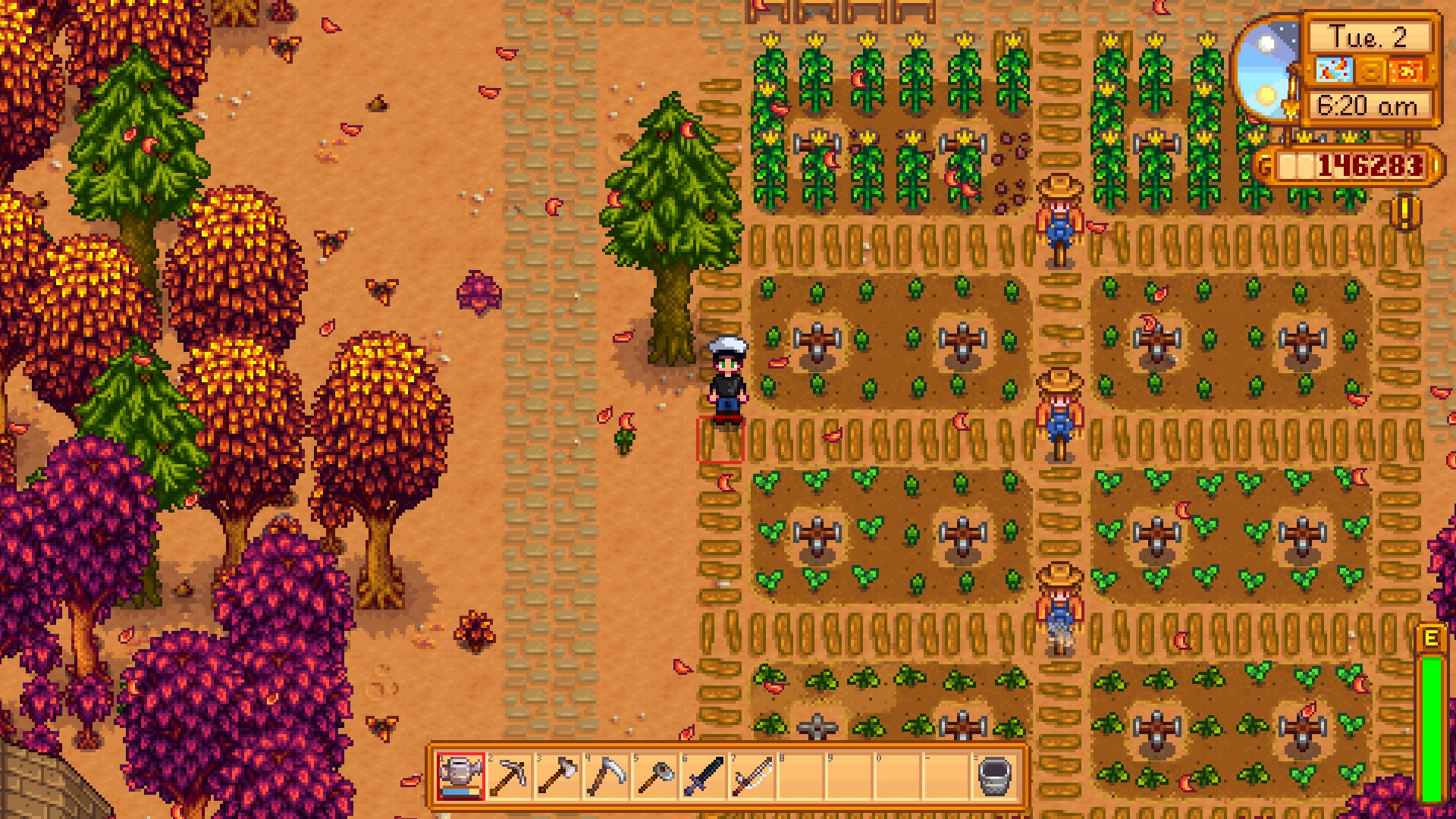 stardew valley how to give clint ore