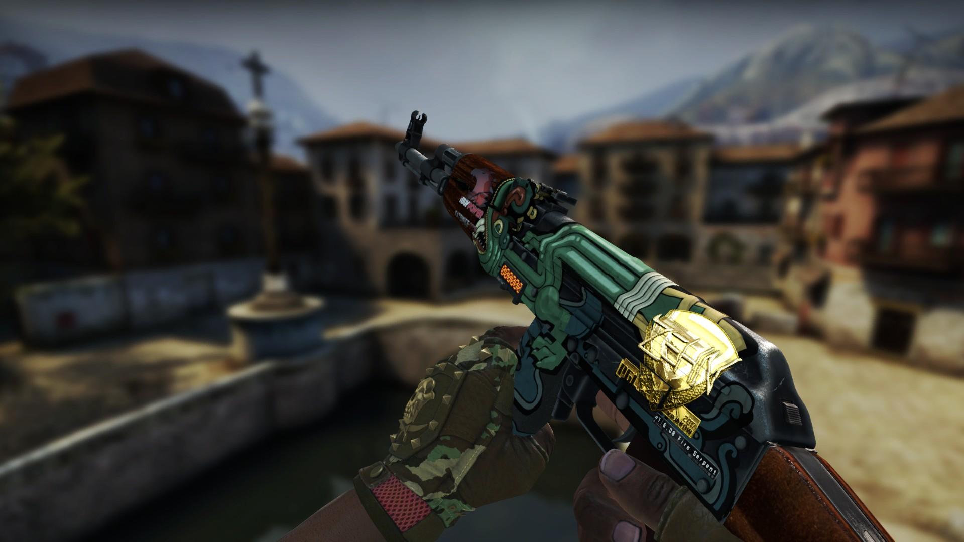 steam community screenshot stattrak ak 47 fire serpent factory