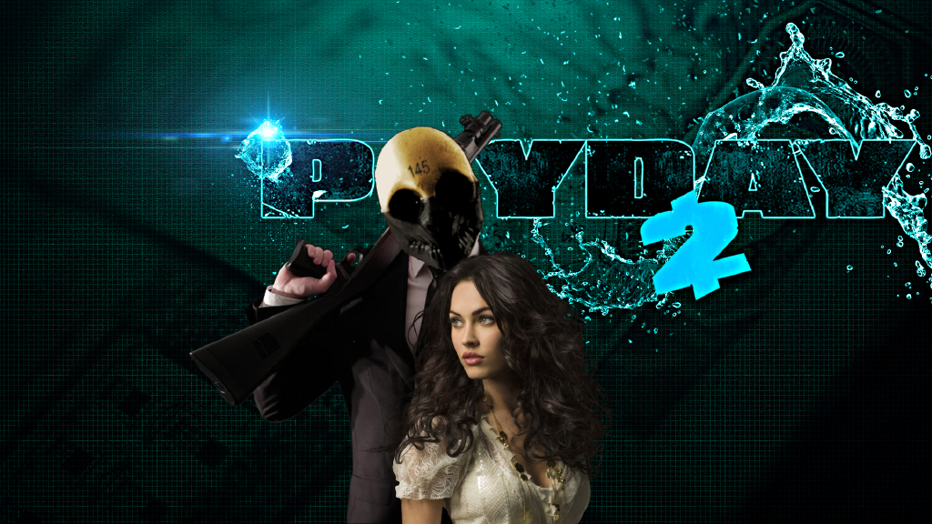 Steam Community Wallpaper PAYDAY2 Megan Fox And Wolf