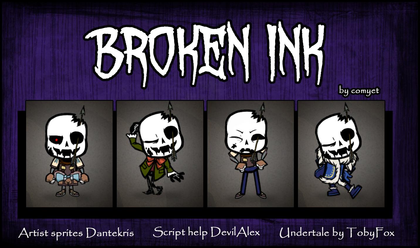 Steam Workshop :: Broken Ink