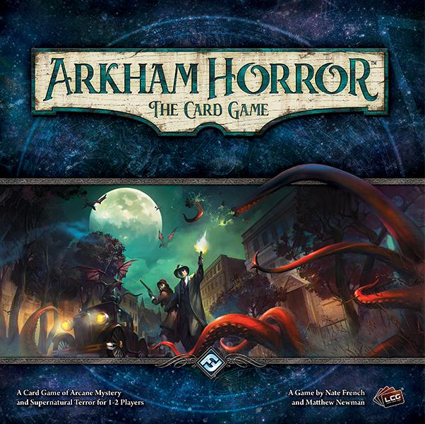 Arkham Horror: The Card Game / Ужас Аркхэма: Карточная игра (RUS, скрипты, дополнения)