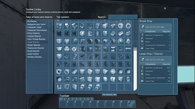 space engineers increase ore detector range