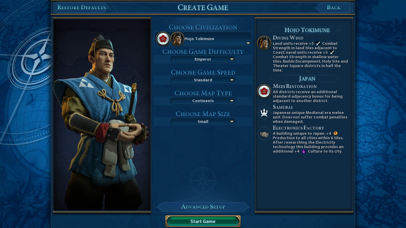 Realms Beyond Forum - Civ6 SG 3 - Stingy Hojo and his cheap