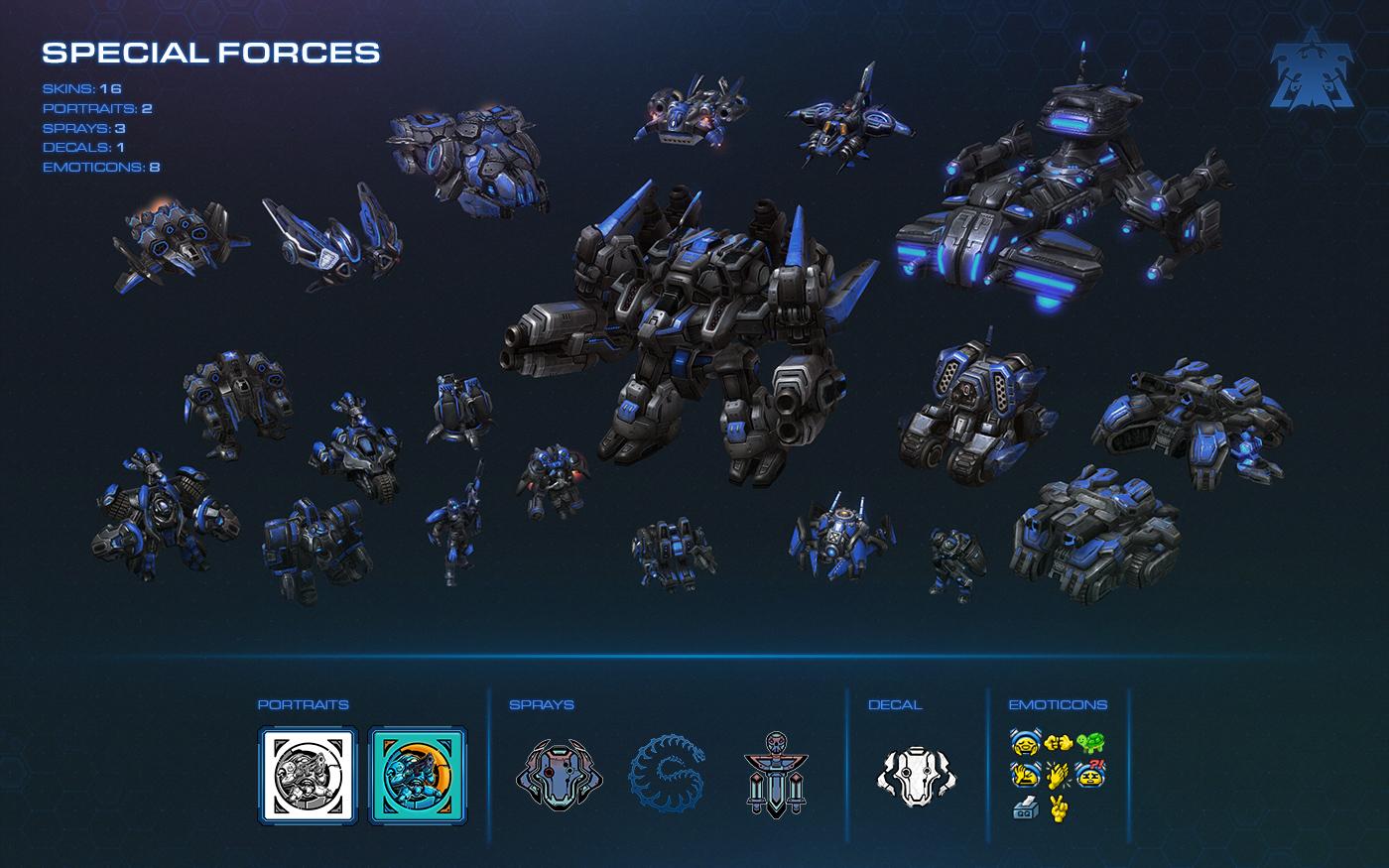 Starcraft  Coop Builds