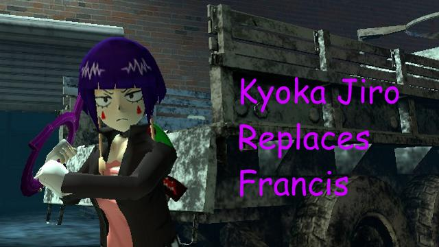 Steam Workshop Kyoka Jiro Francis