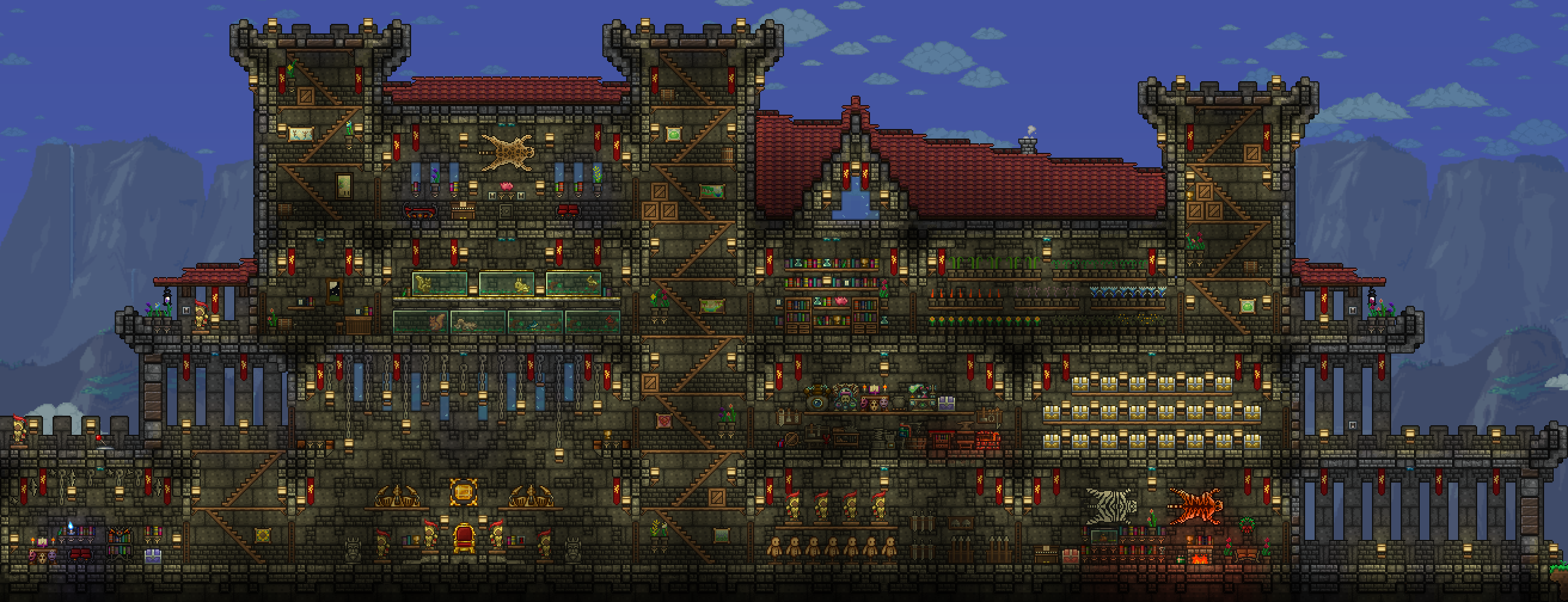 Steam Community :: Guide :: Terraria Castle Design