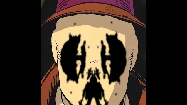 Watchmen: Rorschach animated wallpaper
