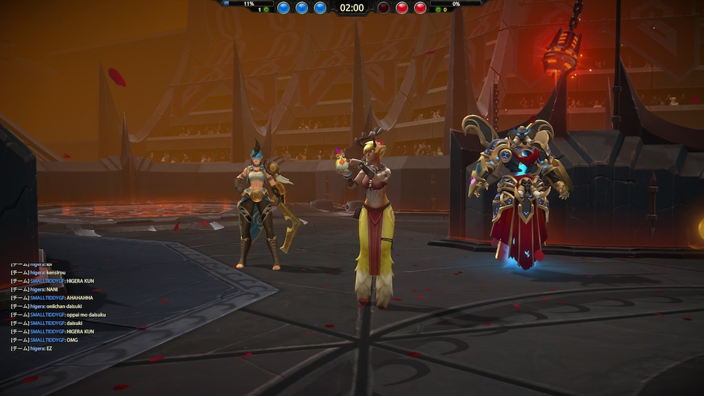battlerite how to all chat