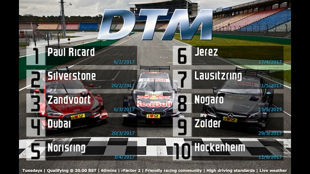 Steam Workshop :: URL-DTM Championship - Season 1