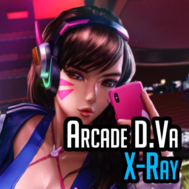 [M] Arcade D.va (X-ray) - Overwatch - Logan Cure (Vell)