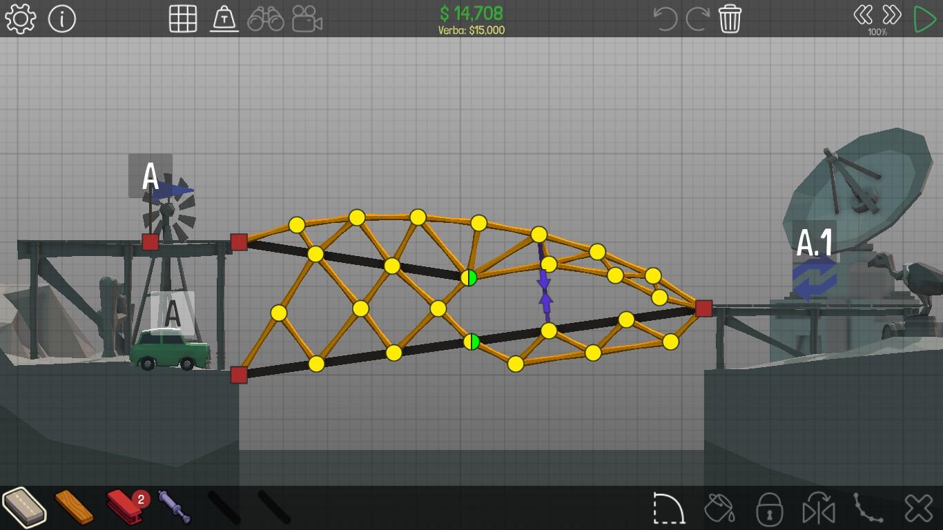 ЦАРСТВО КУБИКОВ ^_^ - Bridge Constructor Portal - Прохождение на ... | 768x1366