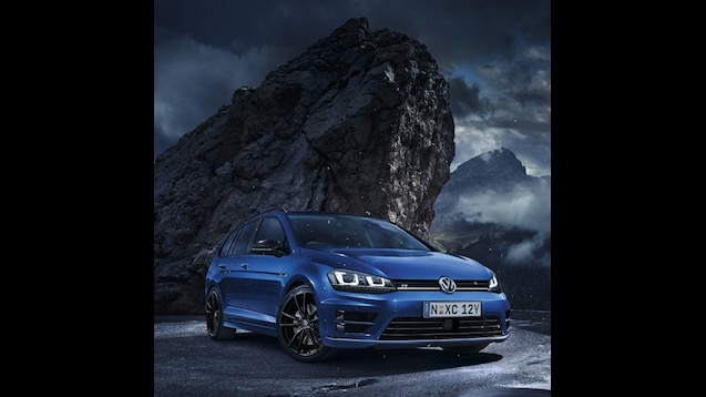 Volkswagen Golf R Wallpaper