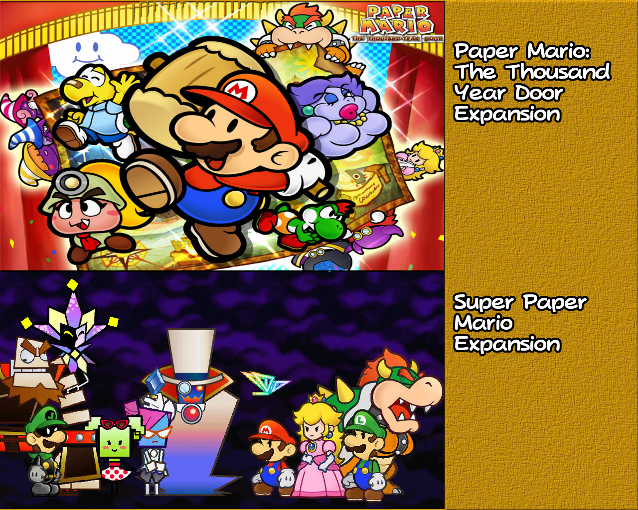 Steam Workshop The Thousand Year Door And Super Paper Mario