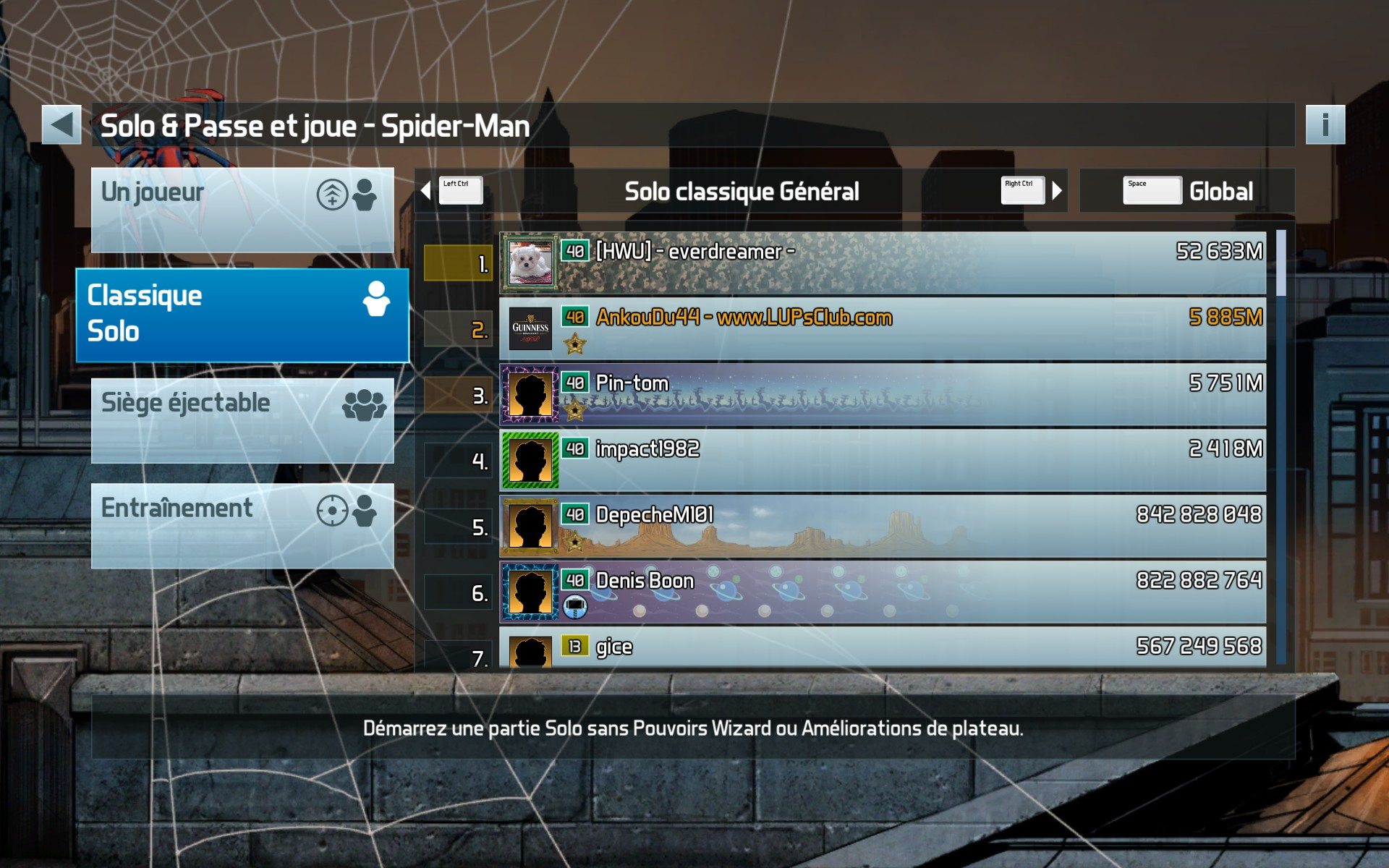 LUP's Club TdM 01.18 : Spécial Leveling • Skyrim, Epic Quest, Spiderman 9F37A0D8C8437BE813C66057911E7F4A503AA6BE