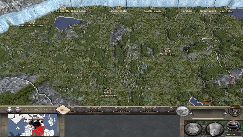 Map Of The North News A World Of Ice And Fire Mod For Medieval Ii