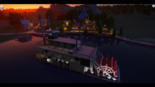 Floating Sandbox Game