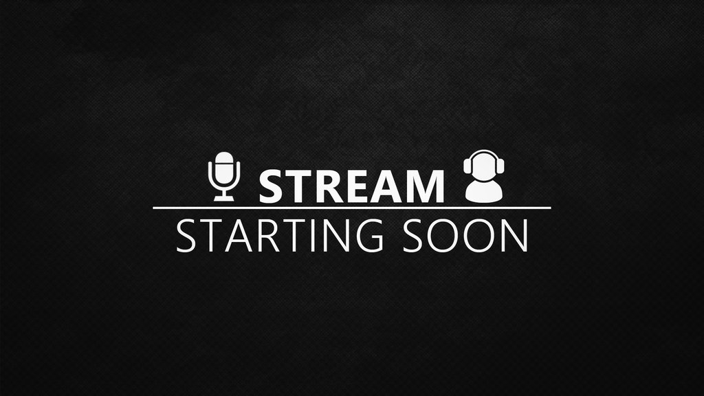 Comunidade Steam Stream Starting Soon