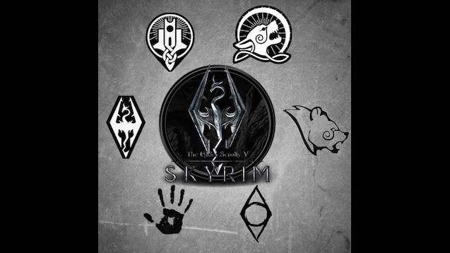 Steam Workshop Skyrim Guilds 2d Wallpaper