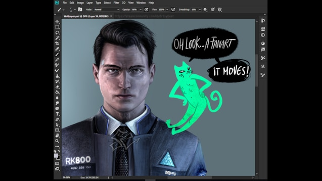 Steam Workshop :: Detroit Become Human Connor Animated