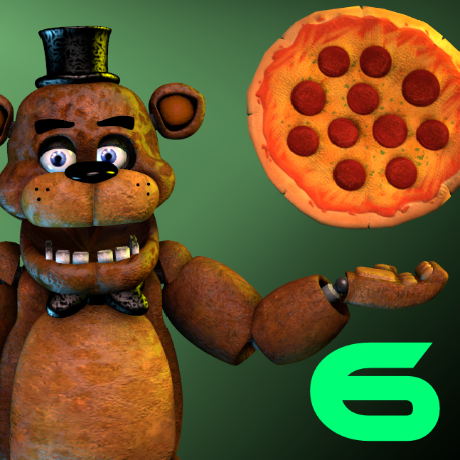 Steam Community :: :: [SFM] Fan made FNaF 6 app Icon