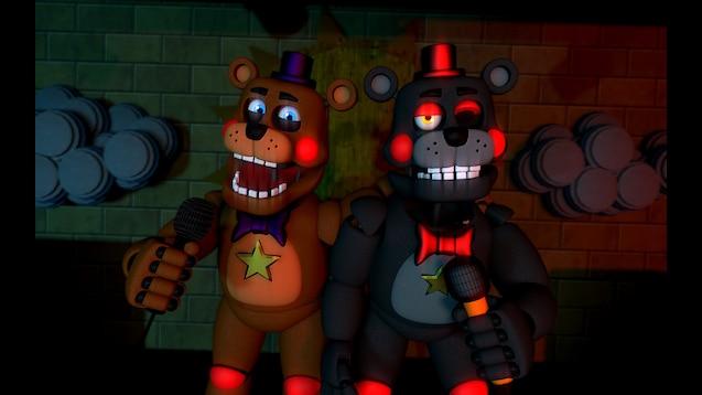 Steam Workshop :: [FFPS/FNAF 6] Lefty and Rockstar Freddy