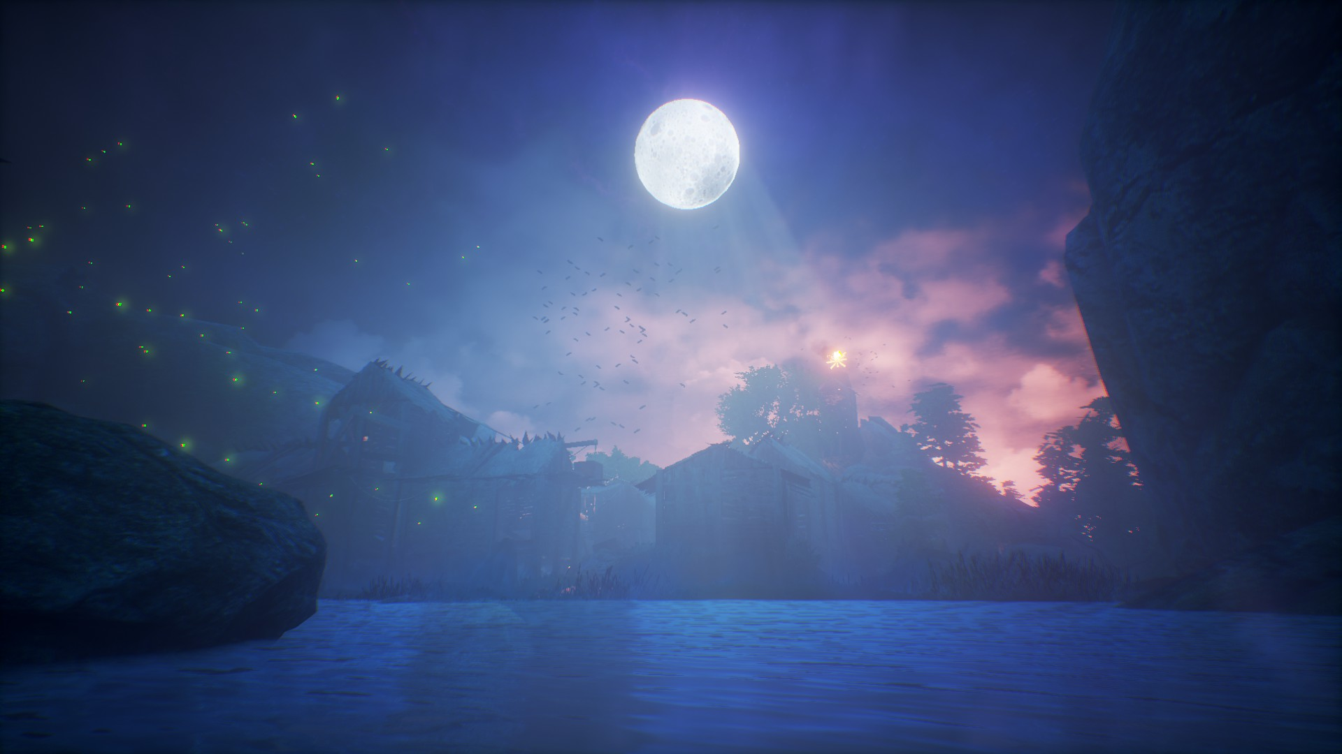 Steam Workshop Calm Night Animated Wallpaper Collection