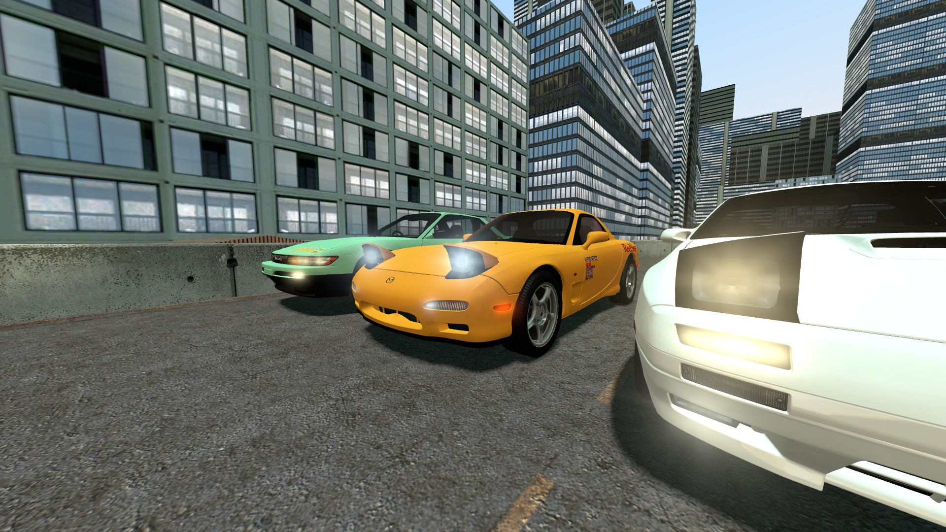 Steam Workshop Simfphys Initial D Cars
