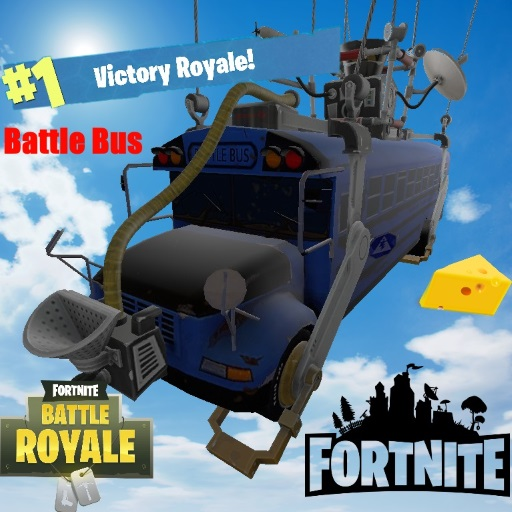 simfphys old fortnite battle bus and school bus - fortnite bus model