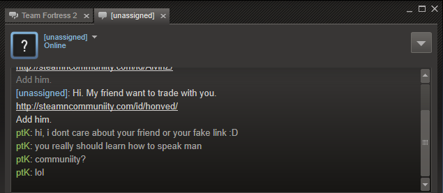 cs go scamming
