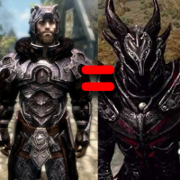 Give Nordic Carved Armor The Stats of Daedric Armor画像
