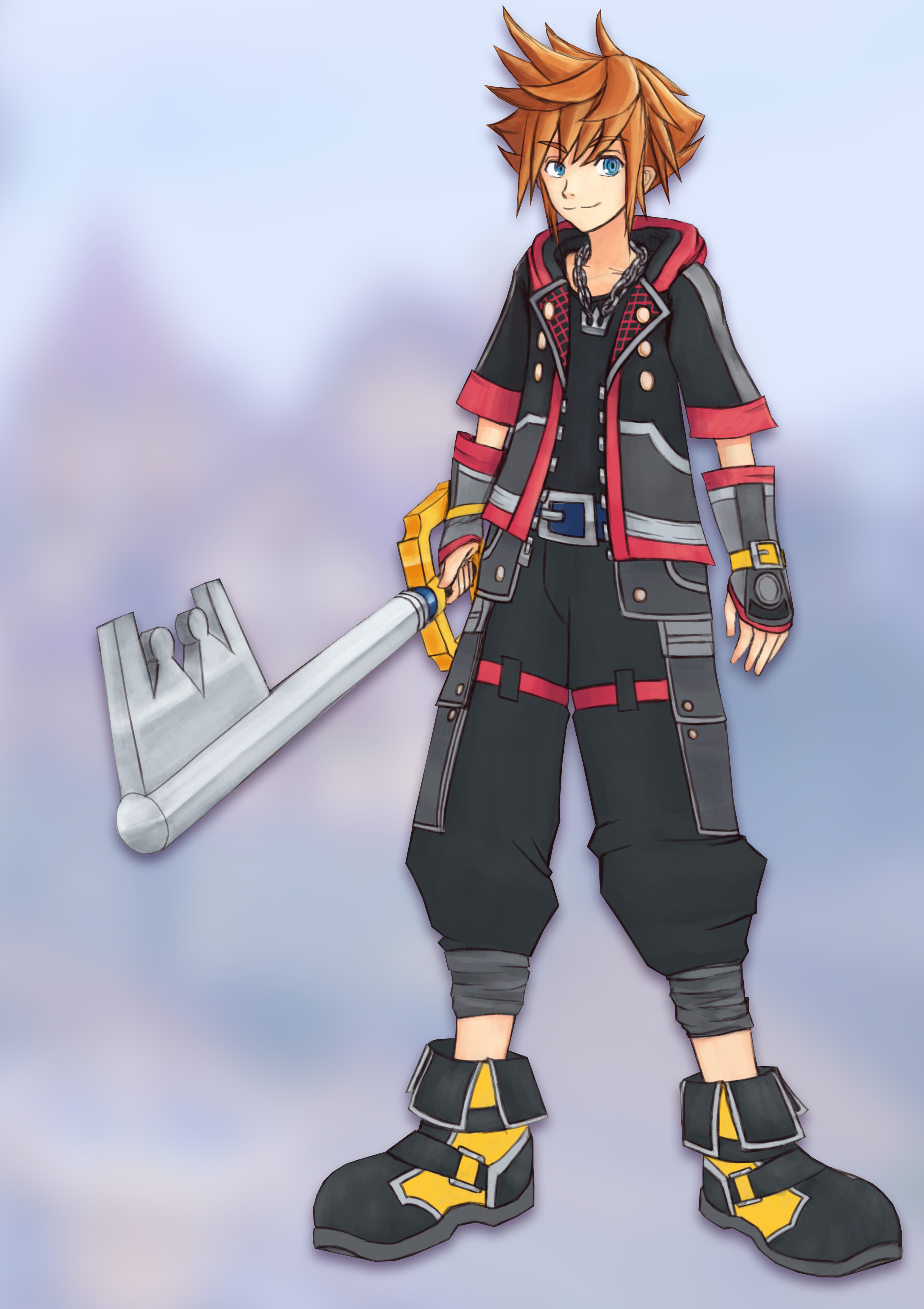 Steam Community Tried To Draw Sora From Kingdom Hearts 3