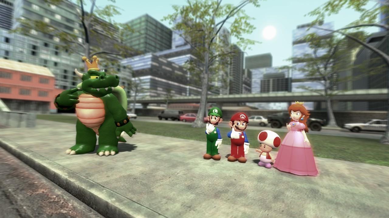 Steam Workshop The Super Mario Bros Super Show