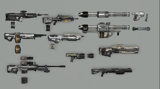Steam Workshop :: Revival Halo RP Weapons Pack