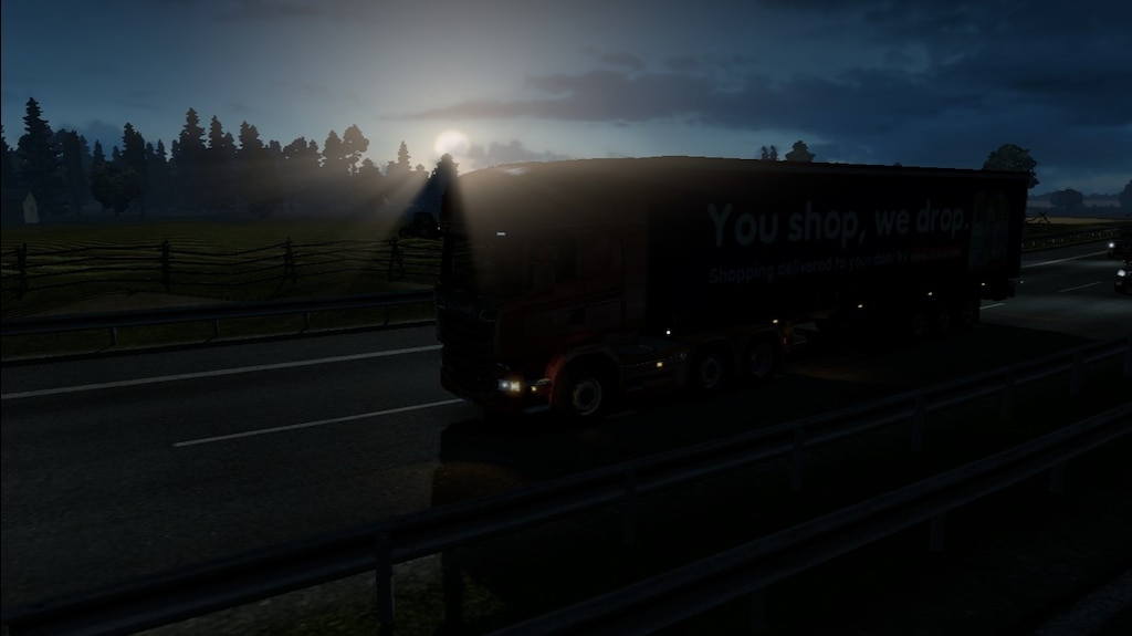 Steam 社区:: 截图:: HDR real graphics mod for ets2
