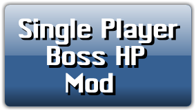 Single player boss HP (may 2018)