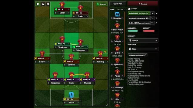 Steam Workshop :: Hoffenheim 3-5-2 (5-3-2)